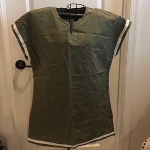 Army/camo green pool/beach cover up